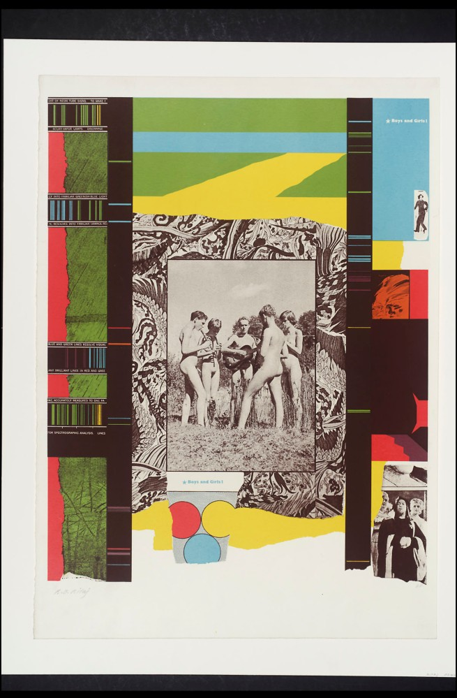 R. B. Kitaj (1932-2007) 'Boys and Girls!' 1964