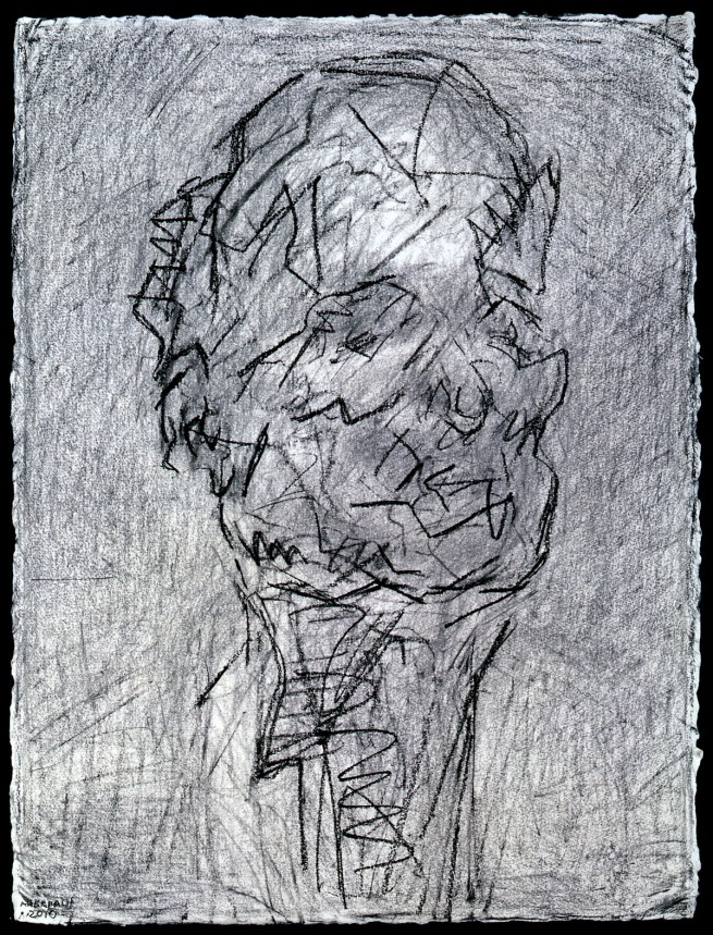 Frank Auerbach (born 1931) 'Self-Portrait II' 2010