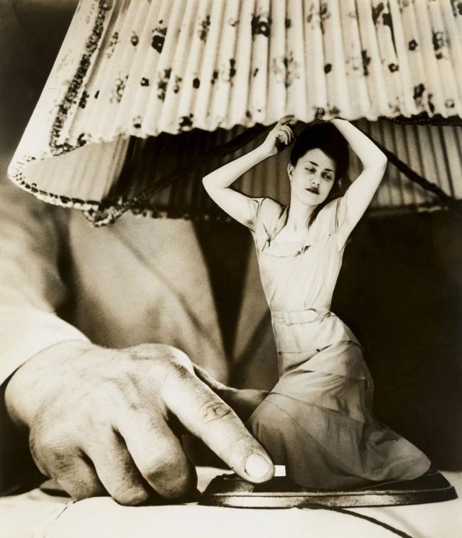 """Grete Stern (Argentinian, born Germany, 1904-1999) 'Sueño No. 1: """"Articulos eléctricos para el hogar"""" (Dream No. 1: """"Electrical Household items"""")' c. 1950"""