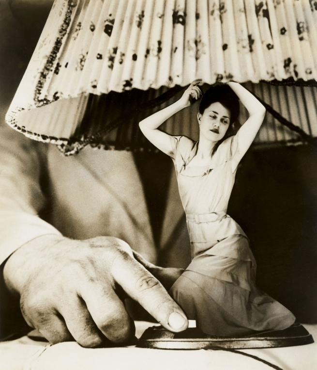 "Grete Stern (Argentinian, born Germany, 1904-1999) 'Sueño No. 1: ""Articulos eléctricos para el hogar"" (Dream No. 1: ""Electrical Household items"")' c. 1950"
