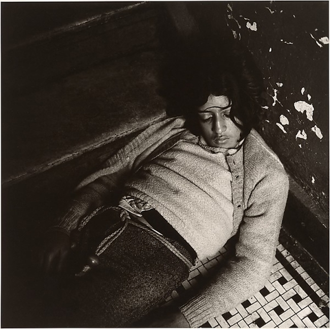 Peter Hujar (American, Trenton, New Jersey 1934-1987 New York) 'Girl in My Hallway' 1976