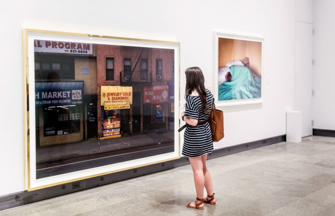 Installation view of the exhibition 'Dream States: Contemporary Photography and Video' at the Metropolitan Museum of Art Photo by Anders Jones