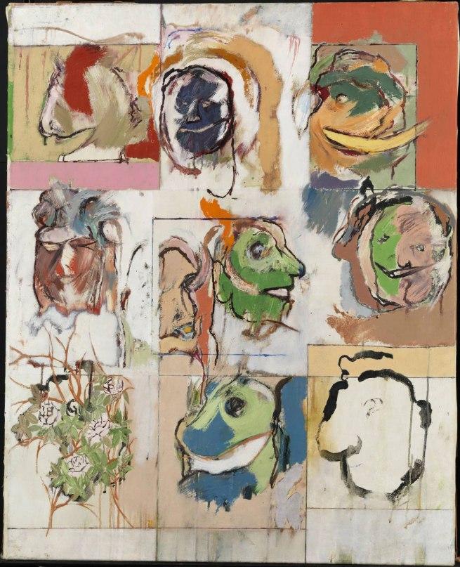 R. B. Kitaj (1932-2007) 'Erasmus Variations' 1958