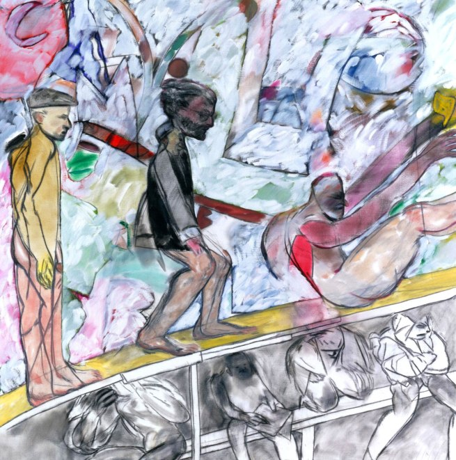 R. B. Kitaj (1932-2007) 'My Cities (An Experimental Drama)' 1990-1993