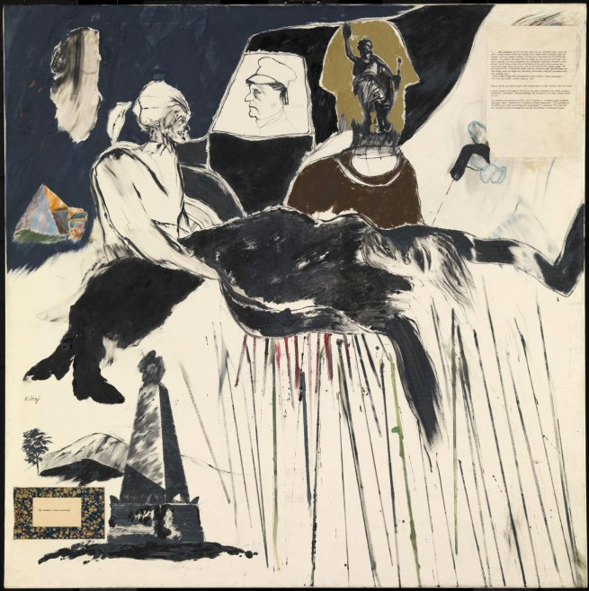 R. B. Kitaj (1932-2007) 'The Murder of Rosa Luxemburg' 1960