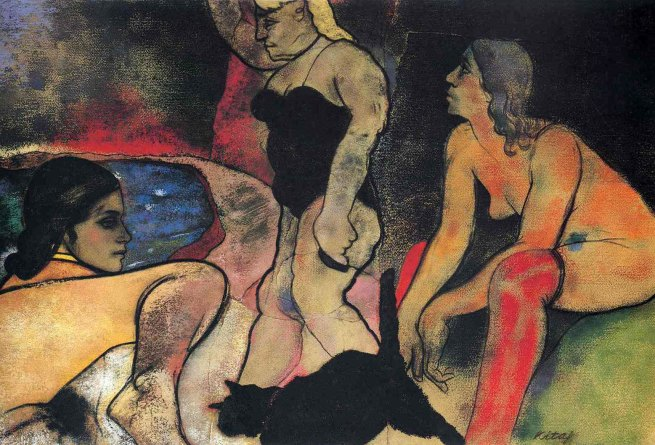 R. B. Kitaj (1932-2007) 'The Rise of Fascism' 1975-1979