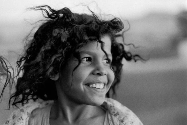 Sabine Weiss. 'La Petite Égyptienne' 1983