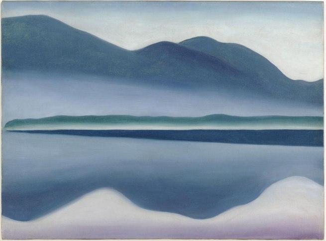 Georgia O'Keeffe (1887-1986) 'Lake George' 1922