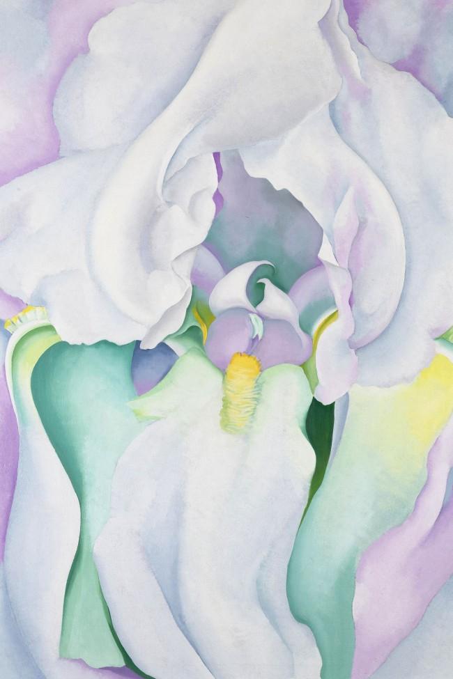 Georgia O'Keeffe (1887-1986) 'White Iris' 1930