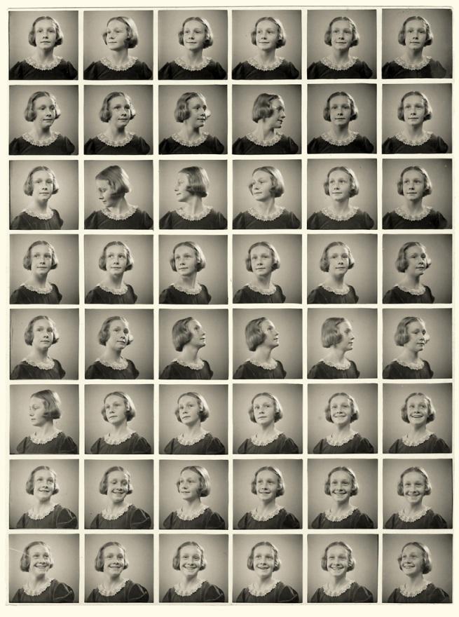 Sabine Weiss. 'Portraits multiples, procédé Polyfoto' Genève, 1937