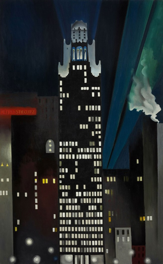 Georgia O'Keeffe (1887-1986) 'Radiator Building - Night, New York' 1927