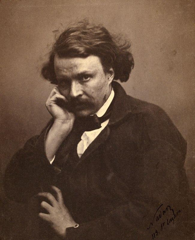 Nadar [Gaspard Félix Tournachon] (French, 1820-1910) 'Self-Portrait' c. 1855