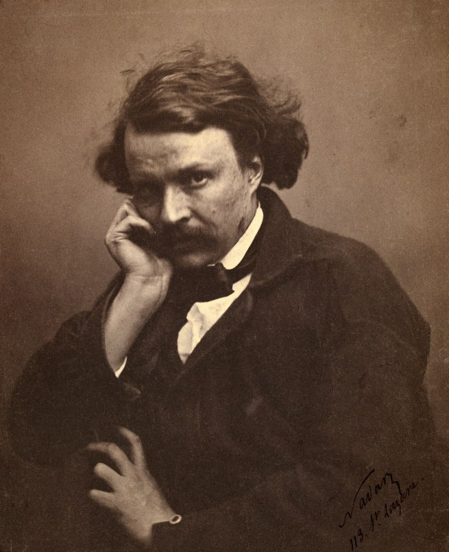 Nadar [Gaspard Félix Tournachon] (French, 1820-1910) 'Self-Portrait' c. 1855