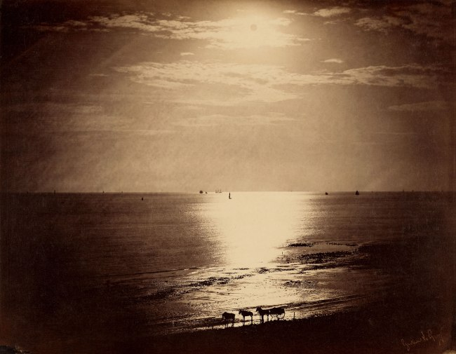 Gustave Le Gray (French, 1820-1884) 'The Sun at Its Zenith, Normandy' 1856