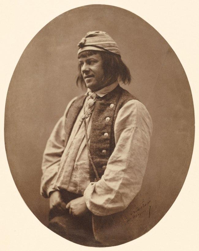 Nadar [Gaspard Félix Tournachon] (French, 1820-1910) 'Jean-François Philibert Berthelier, Actor' 1856-1859