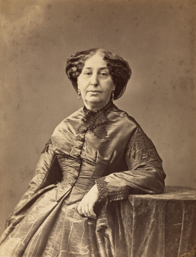Nadar [Gaspard Félix Tournachon] (French, 1820-1910) 'George Sand (Amandine-Aurore-Lucile Dupin), Writer' c. 1865