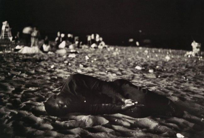 Robert Frank (American, born Zurich, 1924) 'Fourth of July, Coney Island' 1958