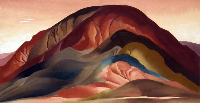 Georgia O'Keeffe (1887-1986) 'Rust Red Hills' 1930