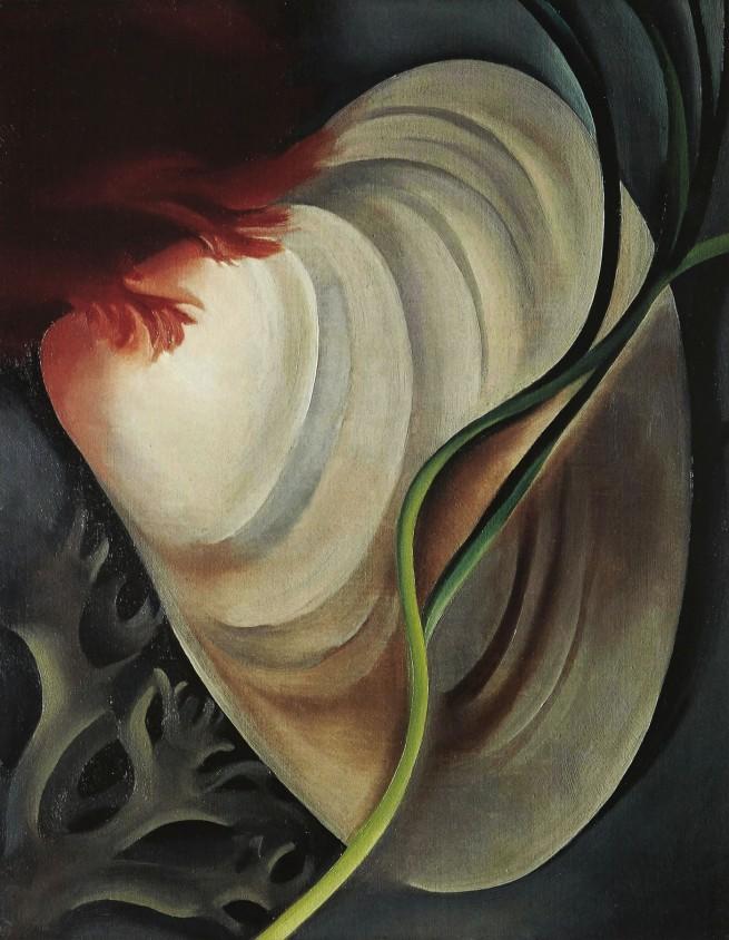 Georgia O'Keeffe (1887-1986) 'Shell No. 2' 1928
