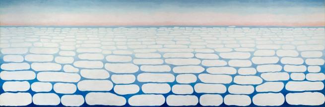 Georgia O'Keeffe (1887-1986) 'Sky Above Clouds IV' 1965