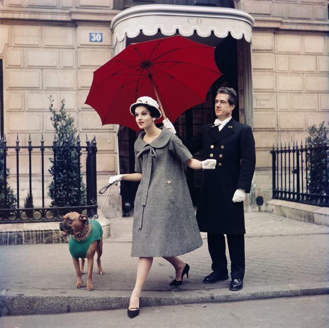 Sabine Weiss. 'Chez Dior, Paris' 1958
