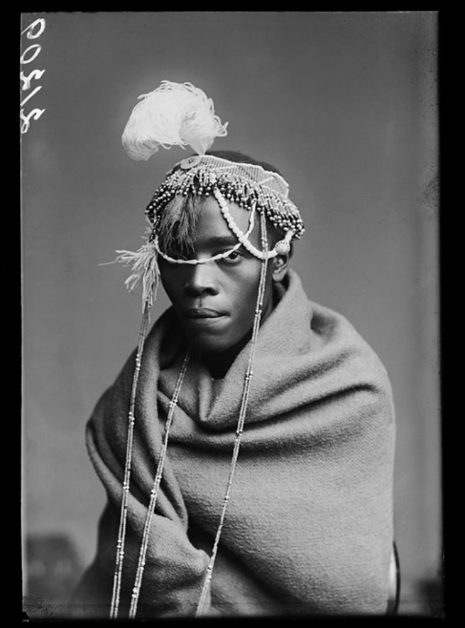 London Stereoscopic Company. 'A member of the African Choir' 1891