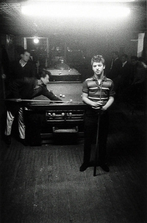 Diane Arbus (1923-1971) 'Boy at the pool hall, N.Y.C., 1959' 1959