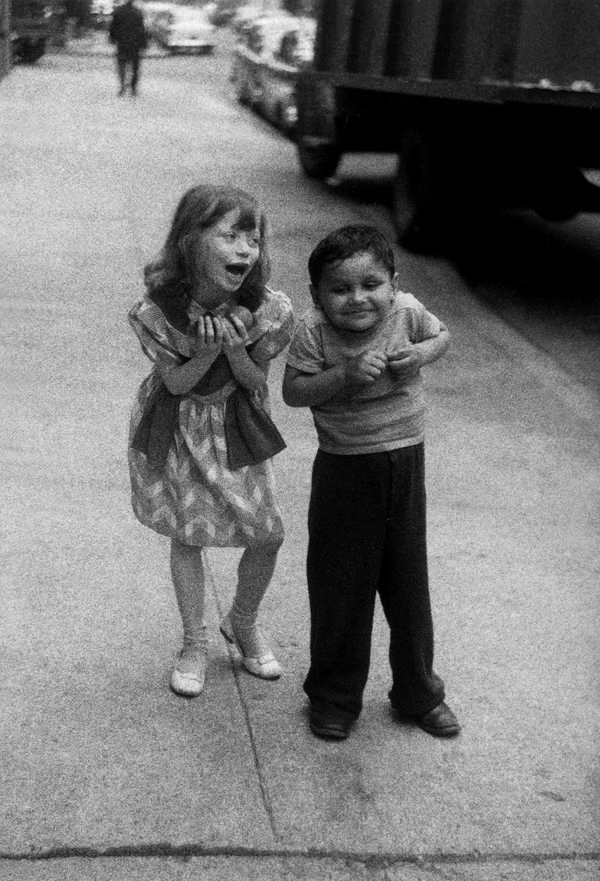 Diane Arbus (1923-1971) 'Child teasing another, N.Y.C., 1960' 1960
