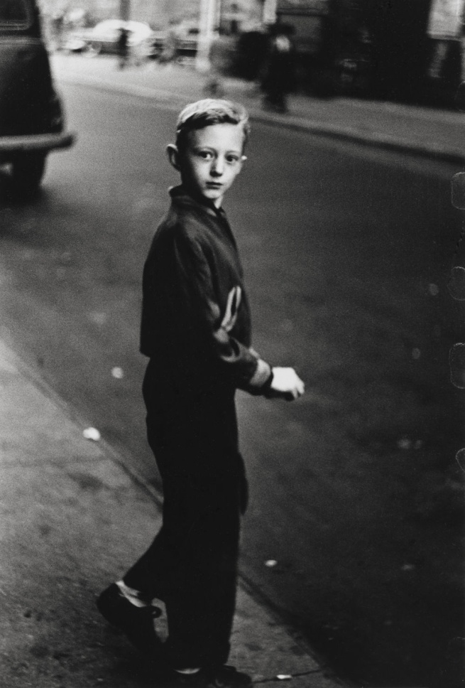 Diane Arbus (1923-1971) 'Boy stepping off the curb, N.Y.C. 1957-58' 1957-58