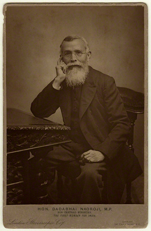 London Stereoscopic & Photographic Company Messrs R.M. Richardson & Co (publishers) 'Dadabhai Naoroji' c. 1892