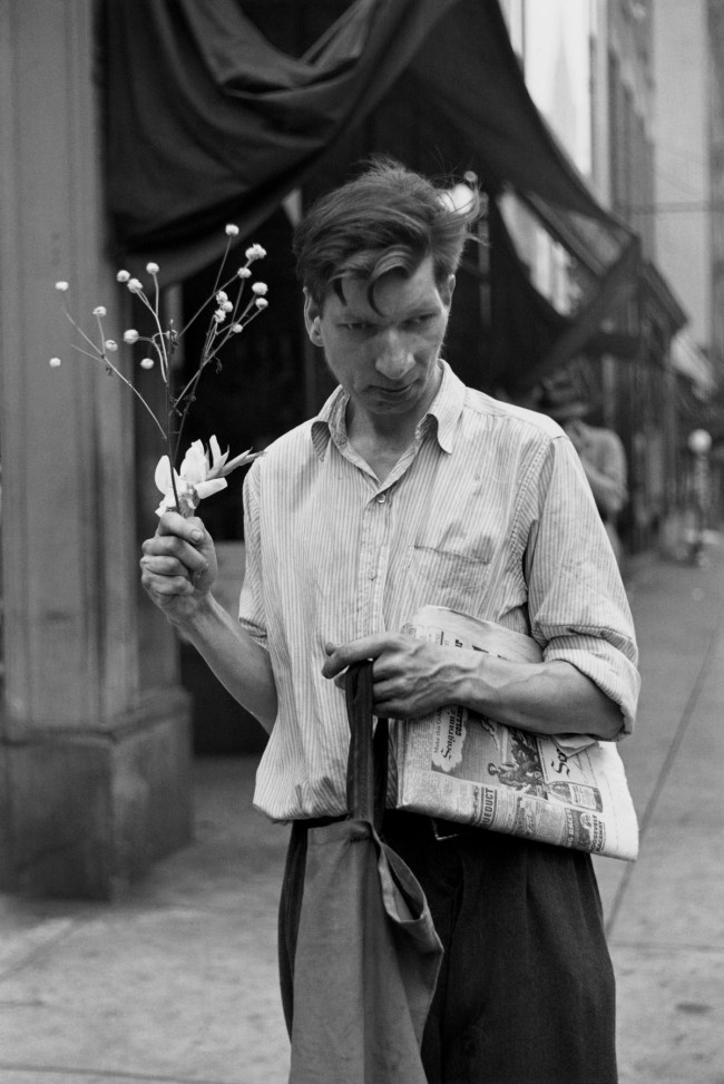 Louis Faurer. 'Eddie, New York' 1948