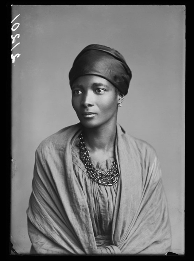 London Stereoscopic Company. 'Eleanor Xiniwe, of the African Choir' 1891