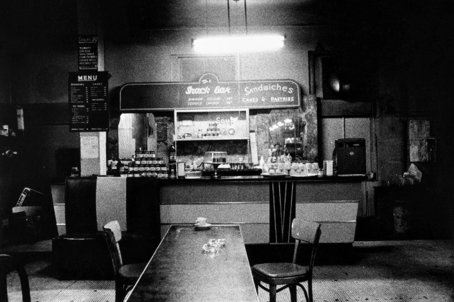 Diane Arbus (1923-1971) 'Empty snack bar, N.Y.C., 1957' 1957