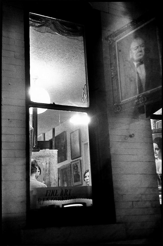 Louis Faurer. 'Somewhere in West Village, New York' 1948