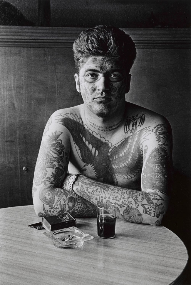 Diane Arbus (1923-1971) 'Jack Dracula at a bar, New London, Conn. 1961' 1961