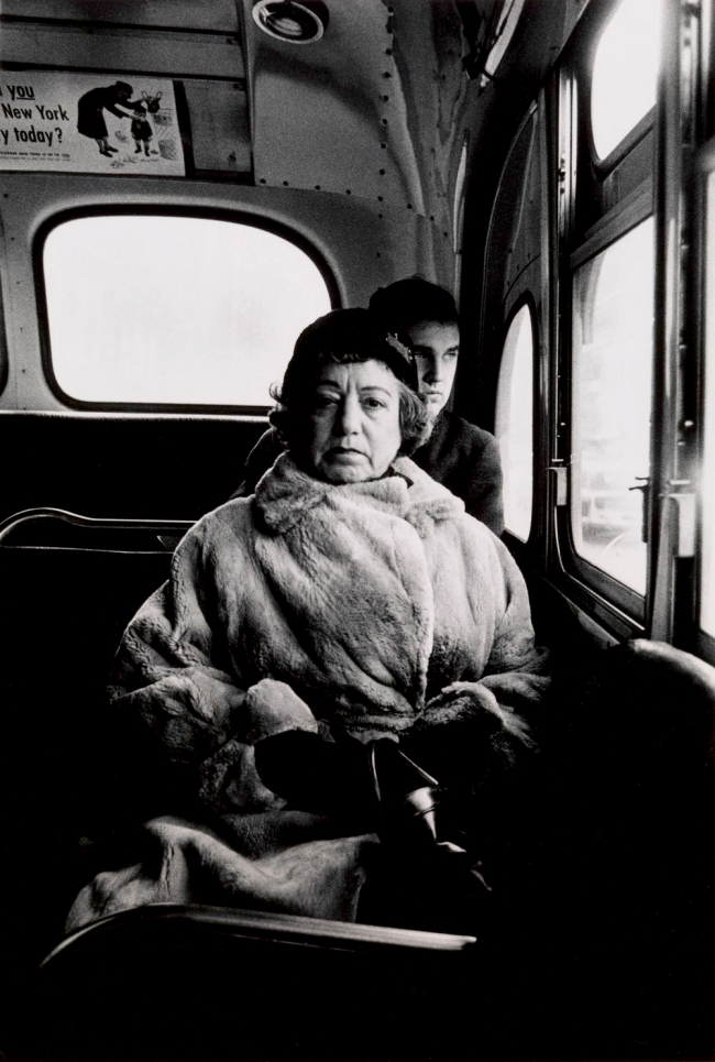 Diane Arbus (1923-1971) 'Lady on a Bus, N.Y.C. 1957' 1957