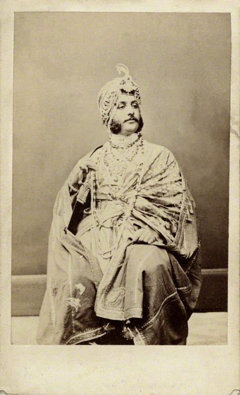 Antoine Claudet. 'Maharajah Duleep Singh' 1860s