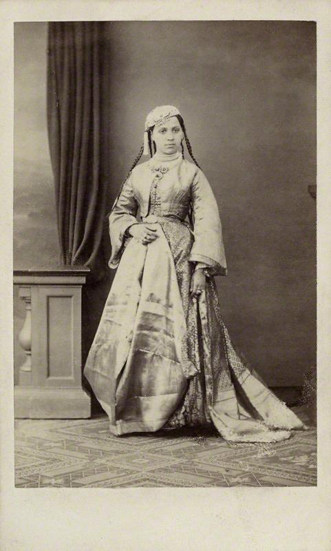 Antoine Claudet. 'Maharani Duleep Singh' 1860s