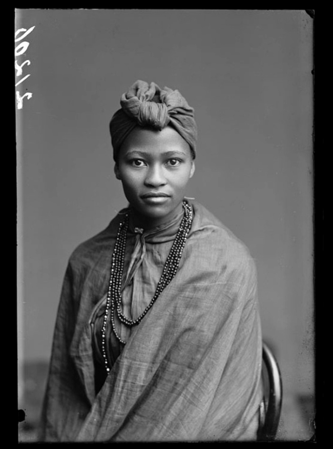 London Stereoscopic Company. 'Frances Gqoba, of the African Choir' 1891