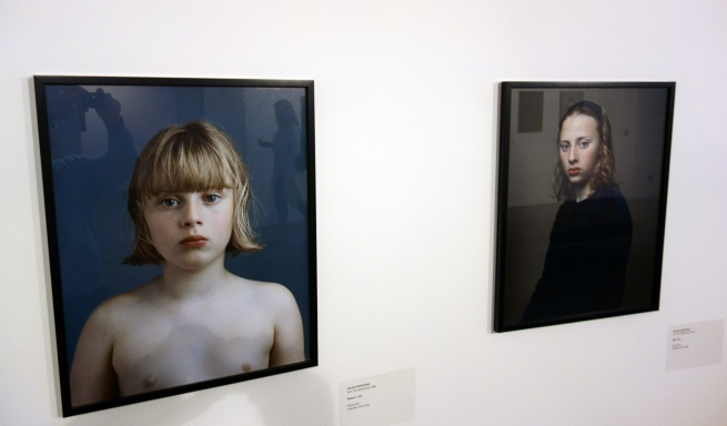 Installation view of 'Dutch masters of light: Hendrik Kerstens & Erwin Olaf' at Monash Gallery of Art, Melbourne