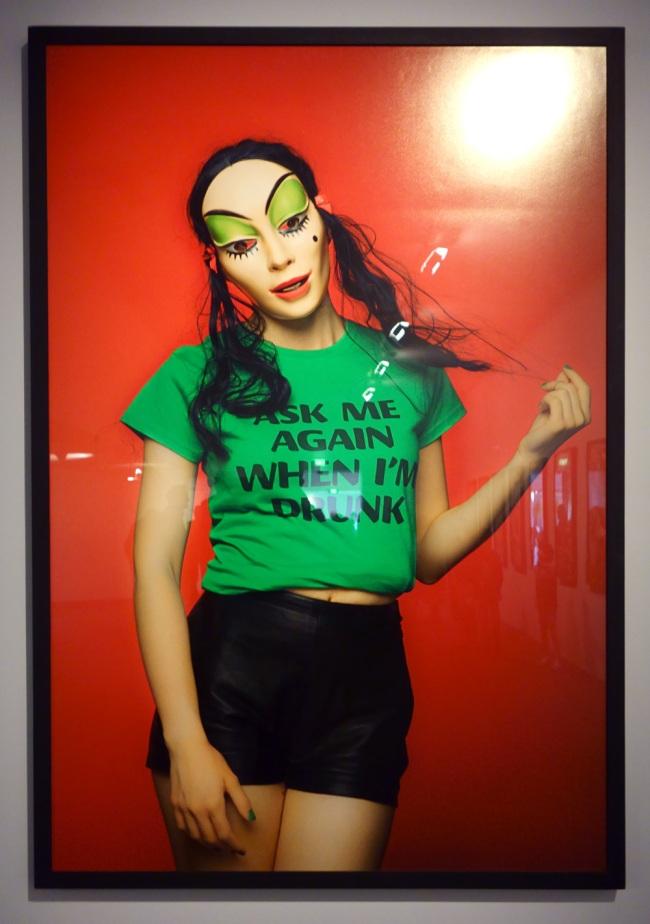 Polixeni Papapetrou (born Australia 1960) 'Ask me again when I'm drunk' (installation view) 2016