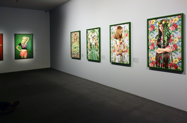 Installation view of 'Beyond Eden: Polixeni Papapetrou' at Monash Gallery of Art, Melbourne