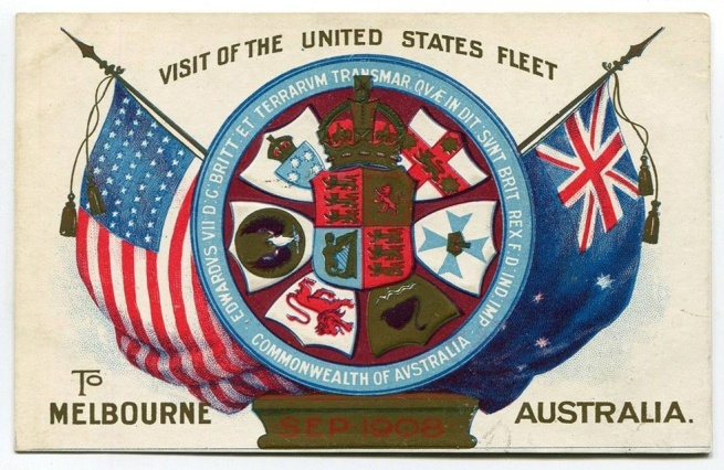 Visit of the United States Fleet To Melbourne Australia, Sep 1908