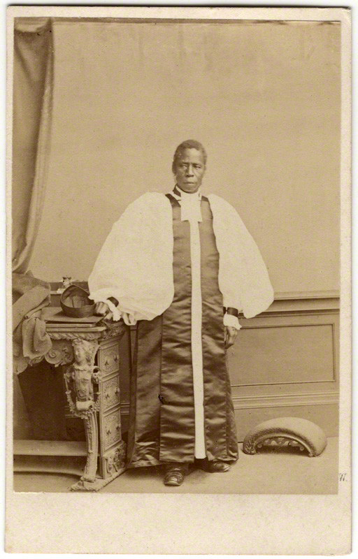 Ernest Edwards. 'Samuel Ajayi Crowther' 1864