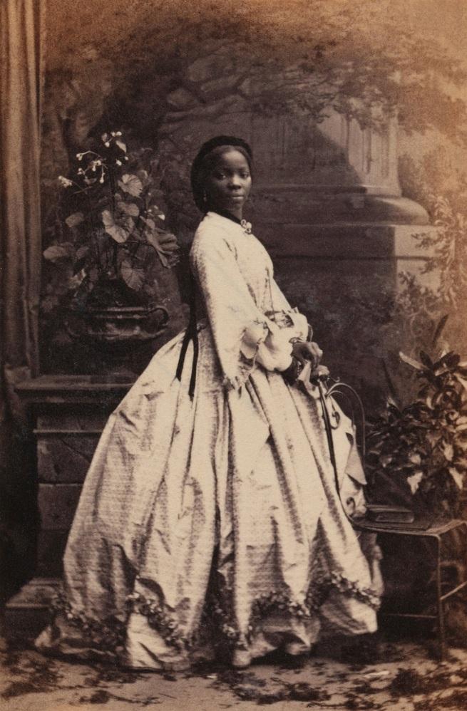 Camille Silvy. 'Sarah Forbes Bonetta (Sarah Davies)' 15 September 1862