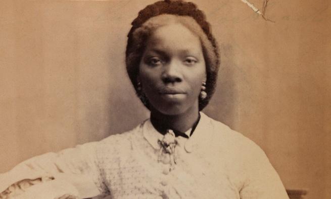 Camille Silvy. 'Sarah Forbes Bonetta' 1862