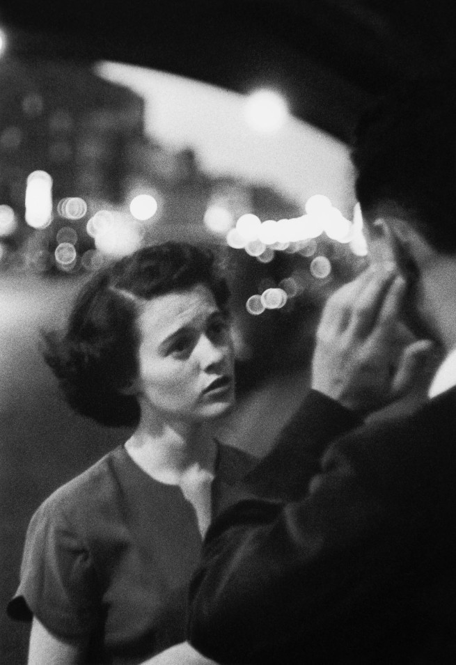 Louis Faurer. 'Deaf Mute, New York' 1950