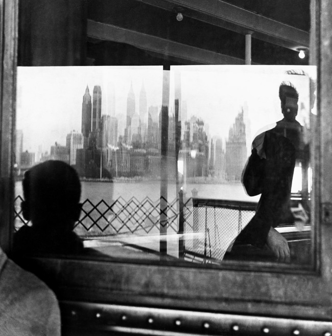 Louis Faurer. 'Staten Island Ferry, New York' 1946