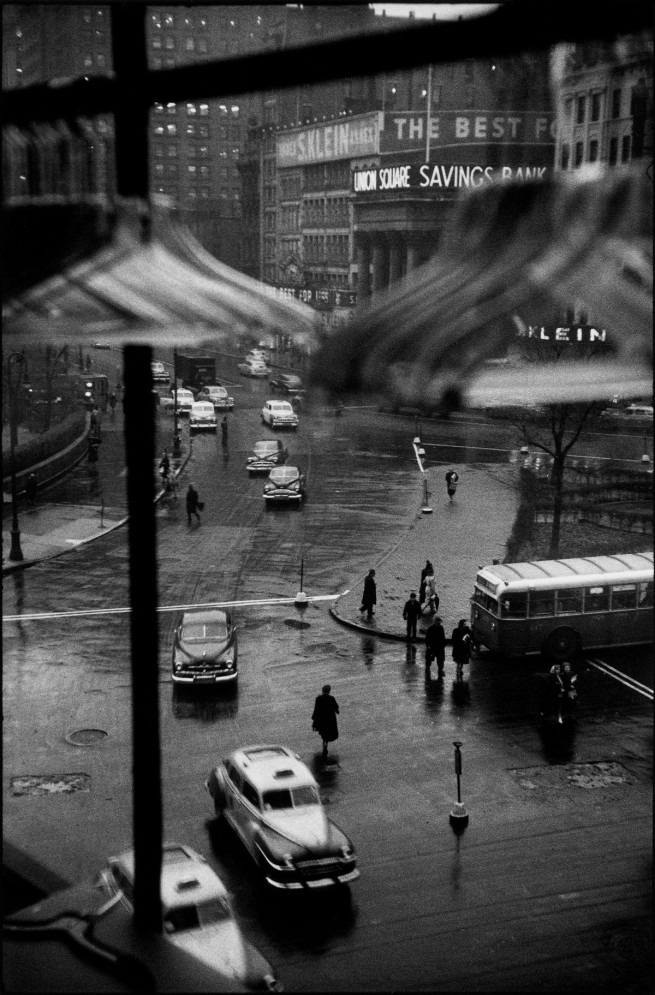 Louis Faurer. 'Union Square from Ohrbach's Window, New York' c. 1948-1950
