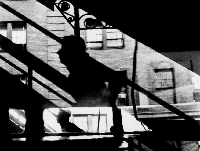 "Louis Faurer. '""Win, Place, and Show"", 3rd Avenue El at 53rd Street, New York, New York' c. 1946-1948"